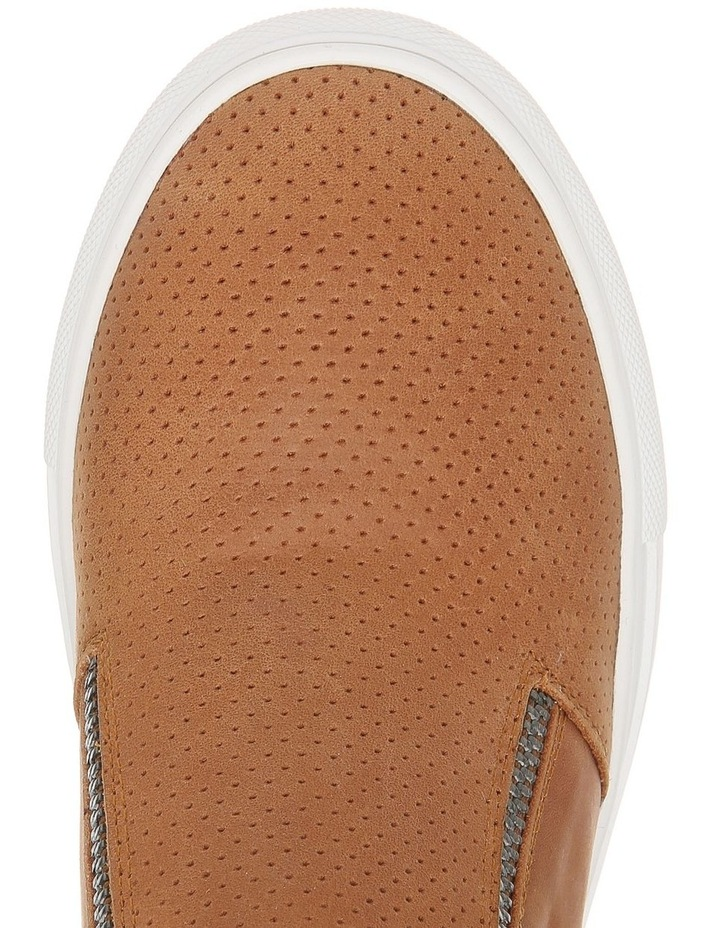 Cane Tan Leather Sneaker image 3