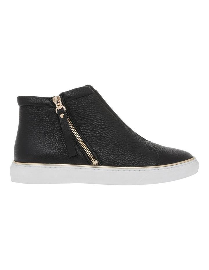 Scott Black Leather Sneaker image 1