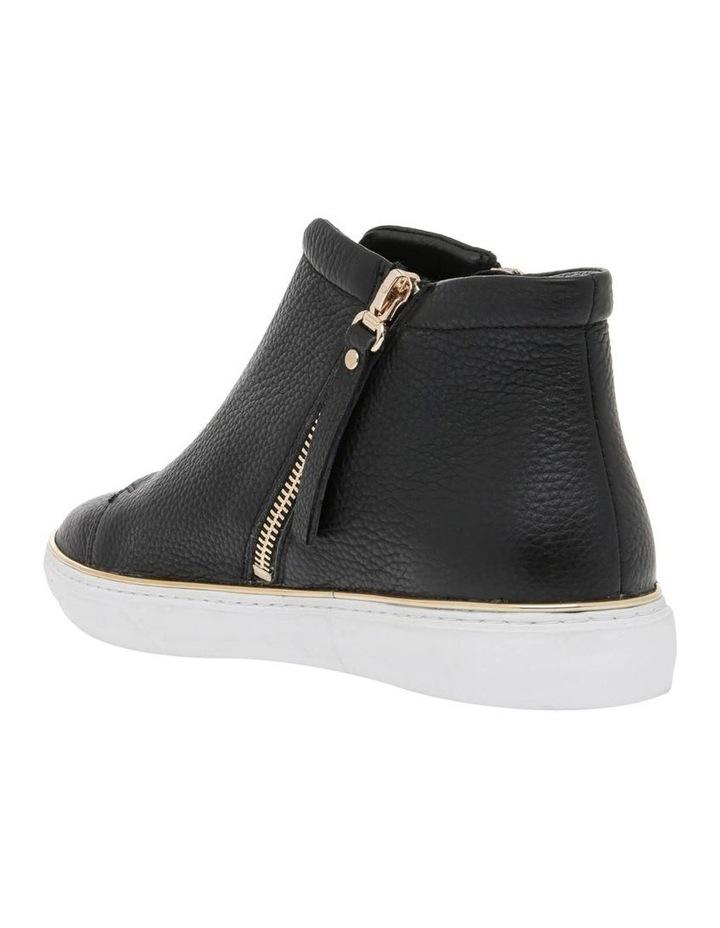 Scott Black Leather Sneaker image 2