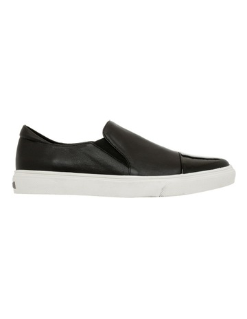 ac03fa006284 Zazou Izzy Black Leather Sneaker