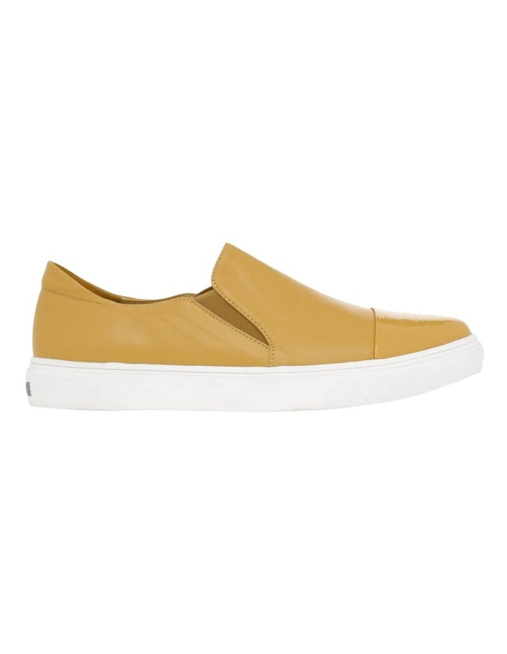 Izzy Mustard Leather Sneaker image 1