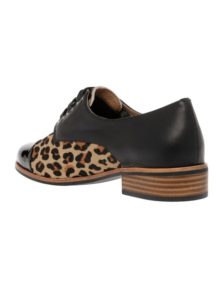 Amica Leopard Print Leather Flat image 2