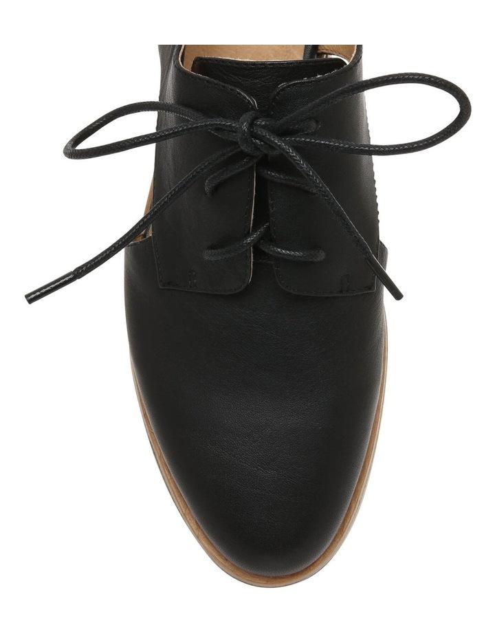 Splendor Black Leather Flat image 3