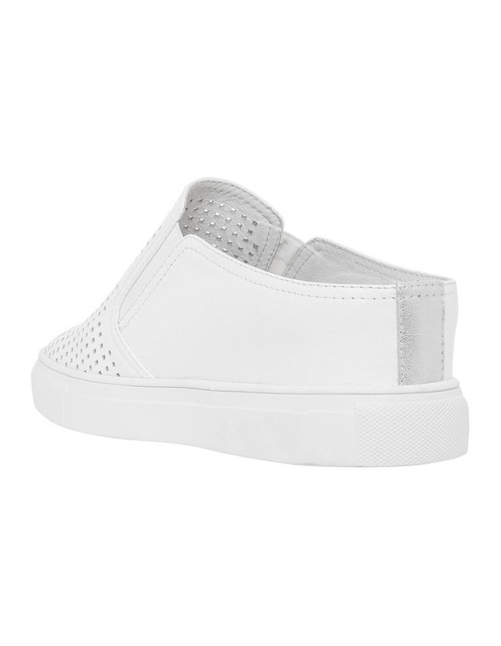 Candy White Leather Sneaker image 2