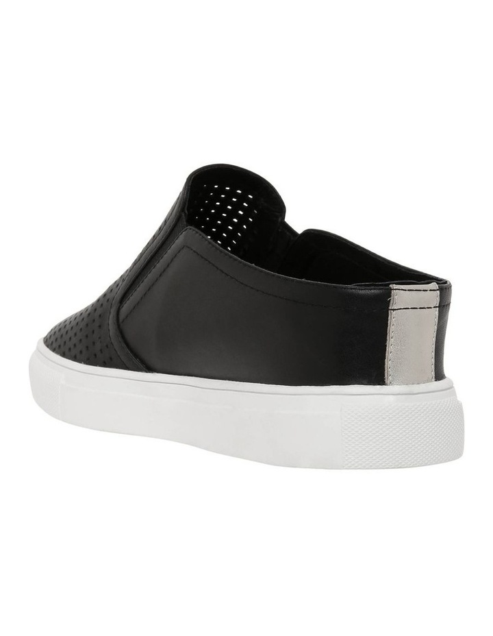 Candy Black Leather Sneaker image 2