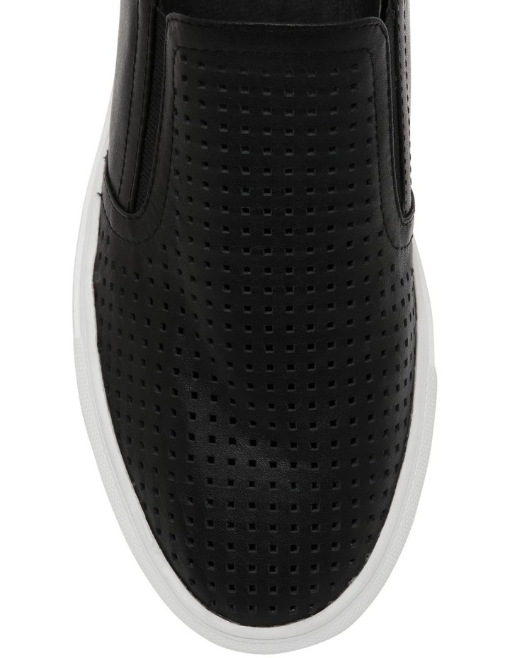 Candy Black Leather Sneaker image 3
