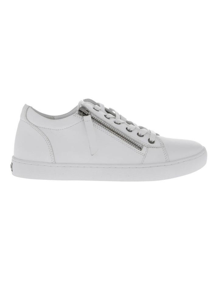 Zia White Leather Sneaker image 1