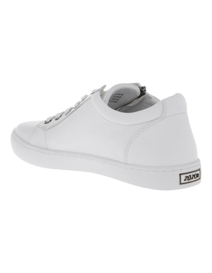 Zia White Leather Sneaker image 2