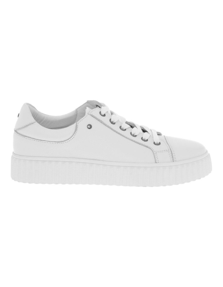 Jolie White Milled Sneaker image 1