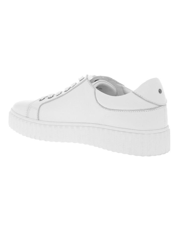 Jolie White Milled Sneaker image 2
