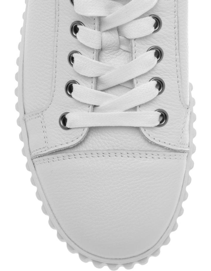 Jolie White Milled Sneaker image 3