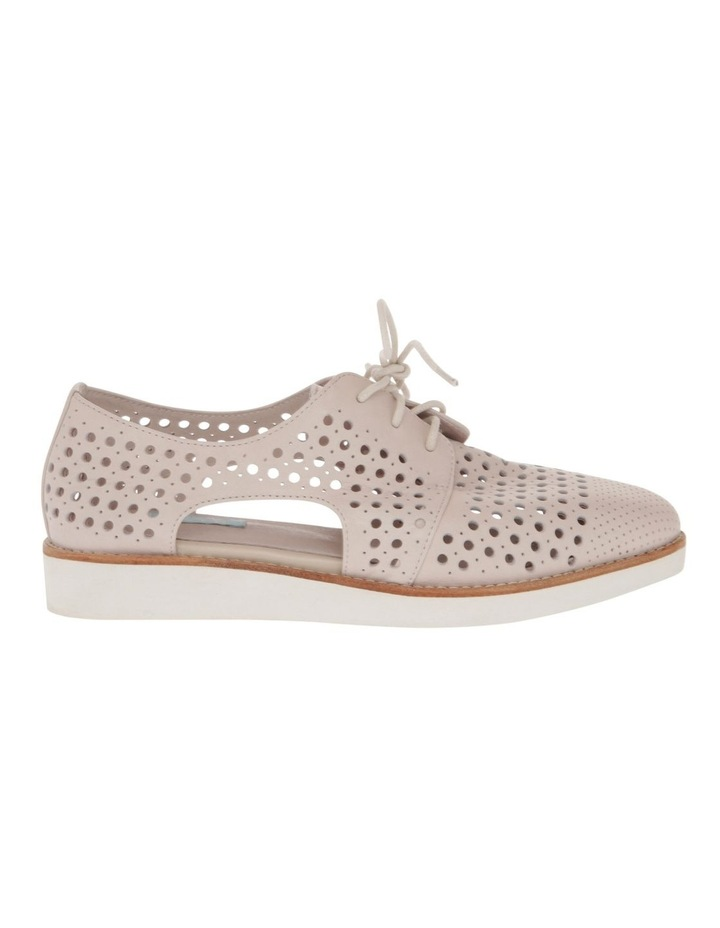 Molly Beige Leather Flat image 1