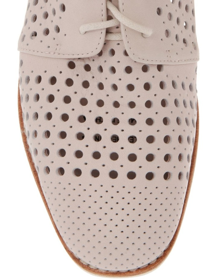 Molly Beige Leather Flat image 2