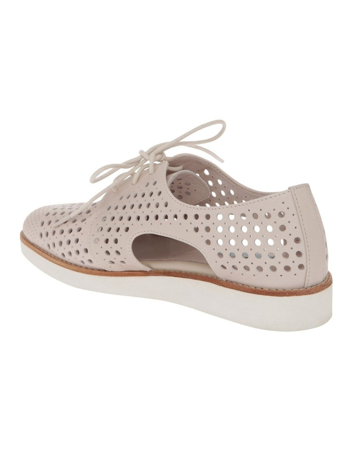 Molly Beige Leather Flat image 3