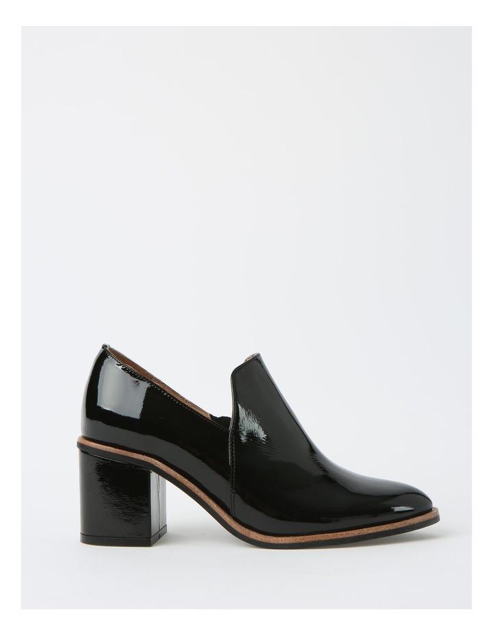 Soho Black Heeled Shoe image 1