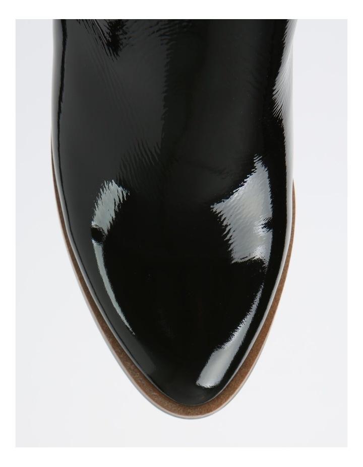Soho Black Heeled Shoe image 2