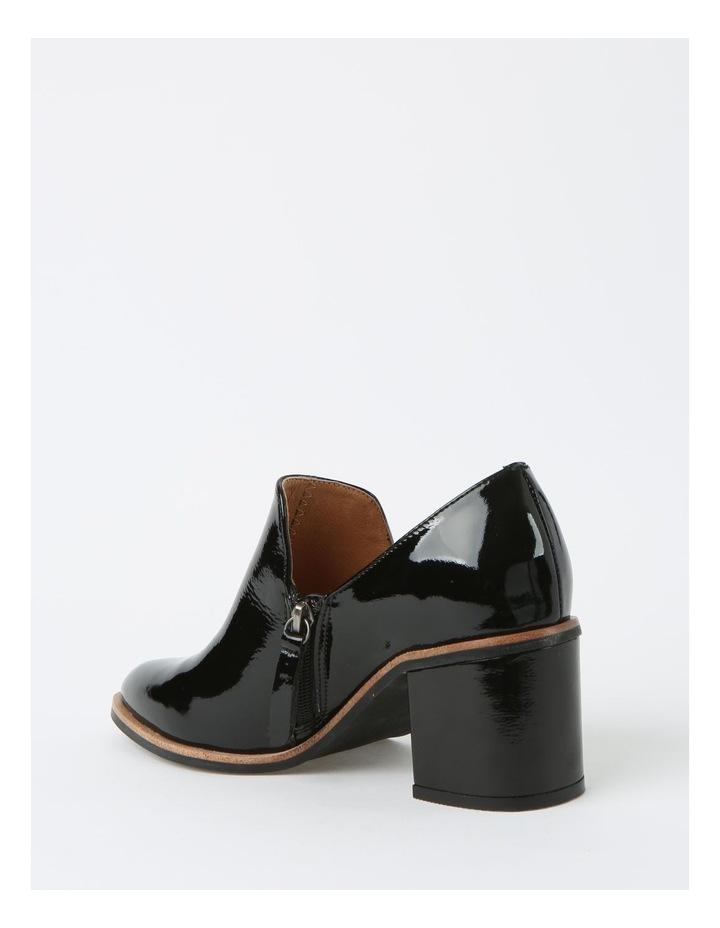 Soho Black Heeled Shoe image 3