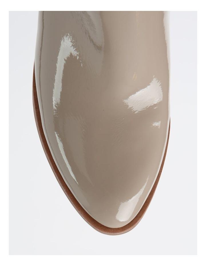 Soho Bone White Heeled Shoe image 2
