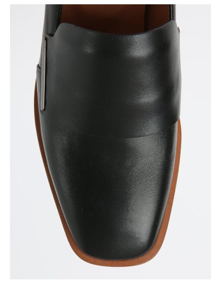 Dawn Black Flat Shoe image 2