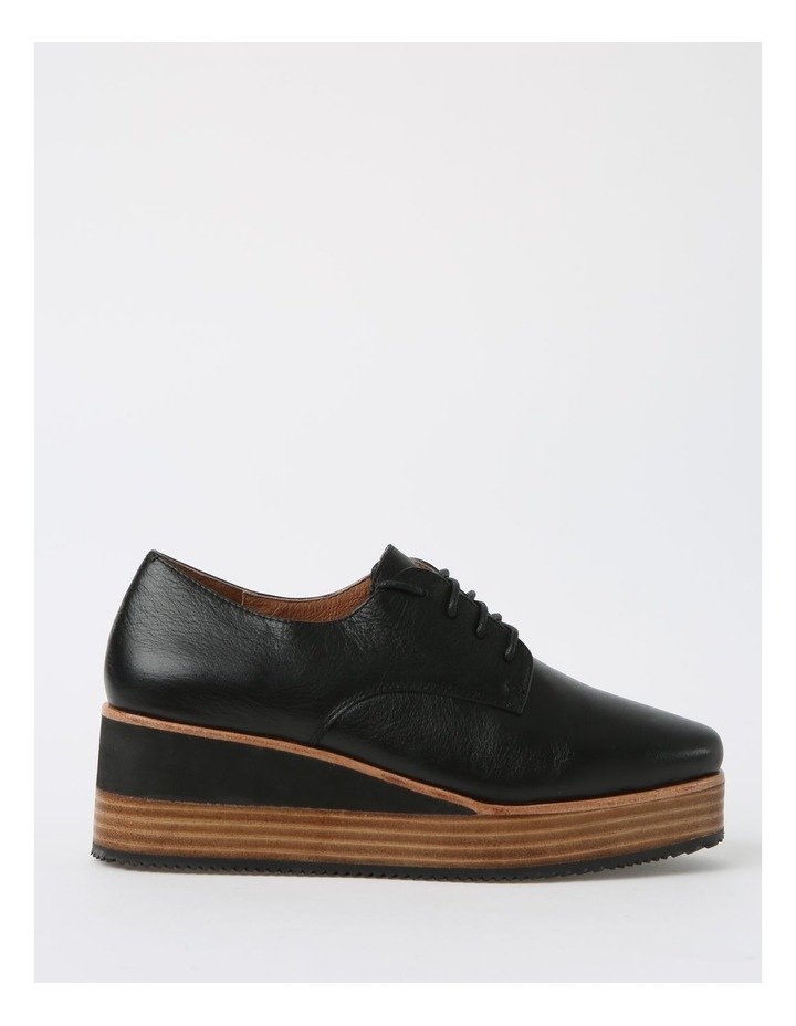 Sharp Black Flat Shoe image 1