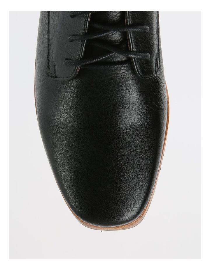 Sharp Black Flat Shoe image 2