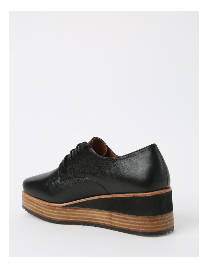 Sharp Black Flat Shoe image 3