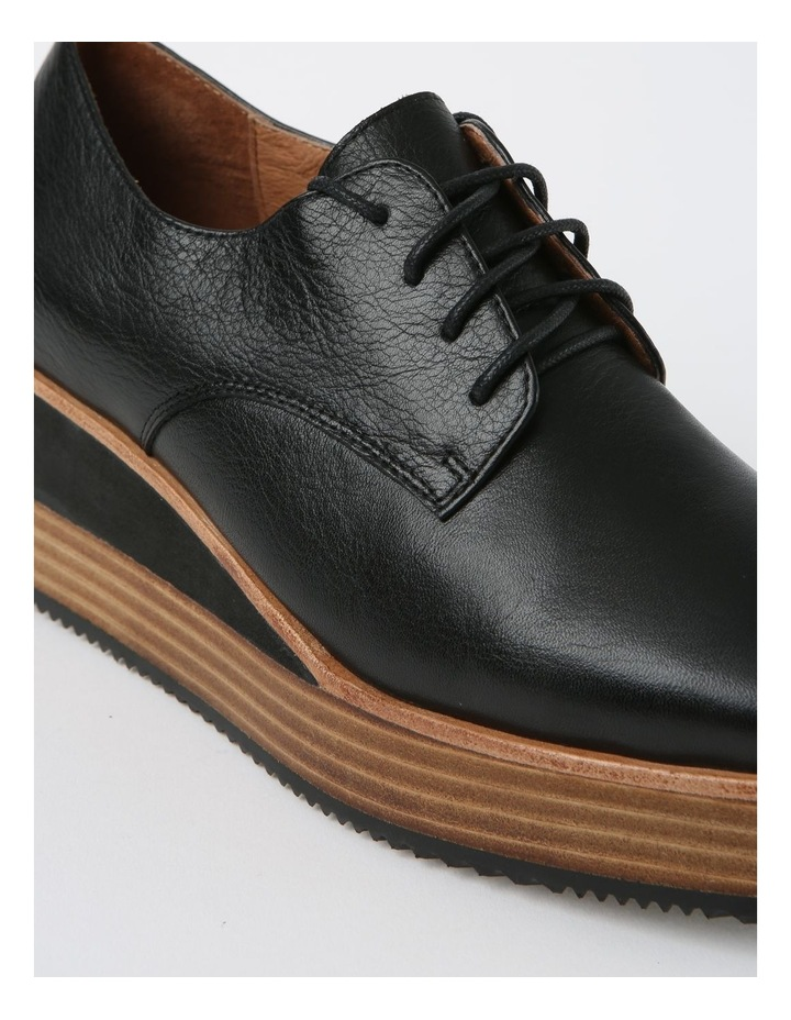 Sharp Black Flat Shoe image 4