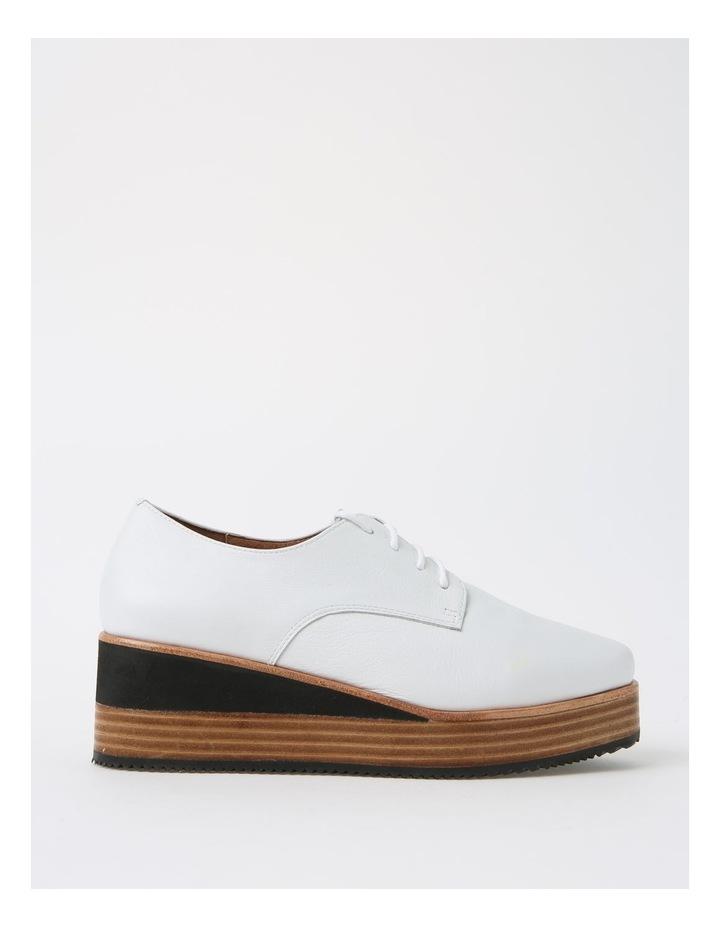 Sharp White Flat Shoe image 1