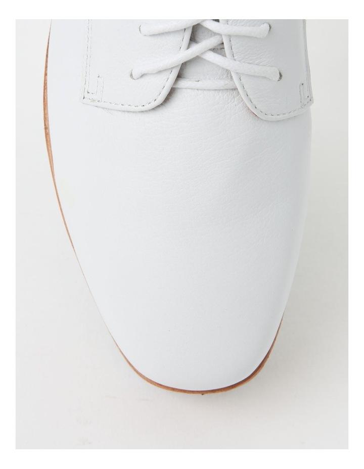 Sharp White Flat Shoe image 2