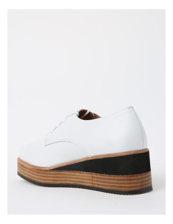 Sharp White Flat Shoe image 3