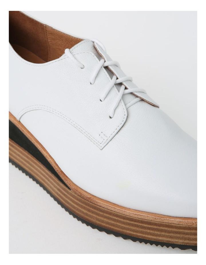 Sharp White Flat Shoe image 4