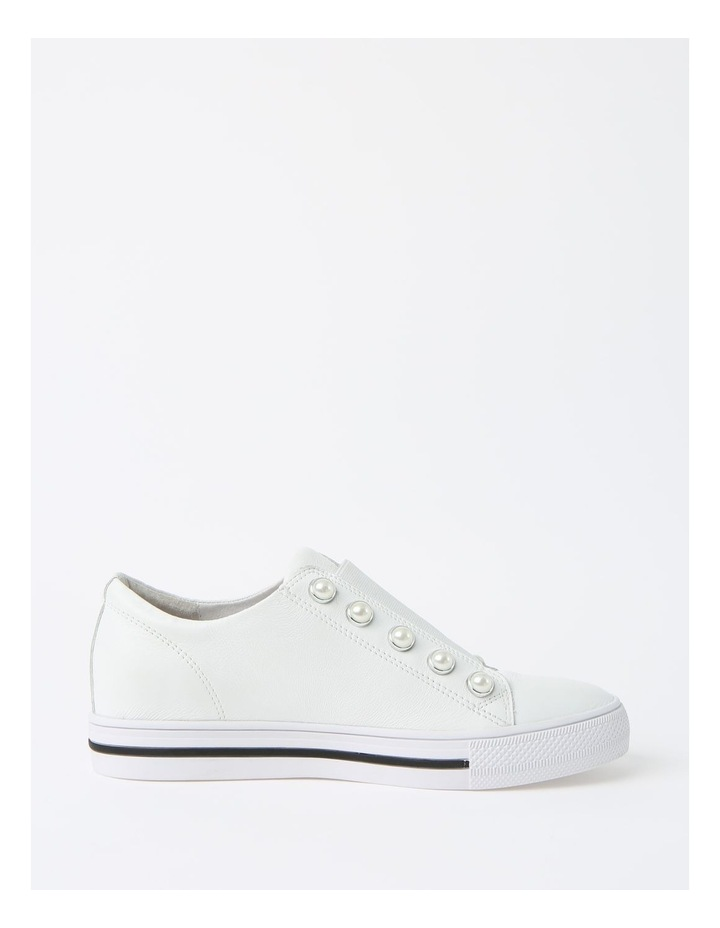 Kiss White Sneaker - Leather image 1