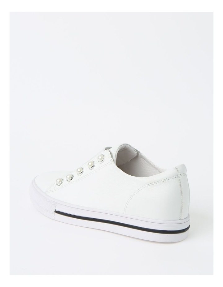 Kiss White Sneaker - Leather image 3