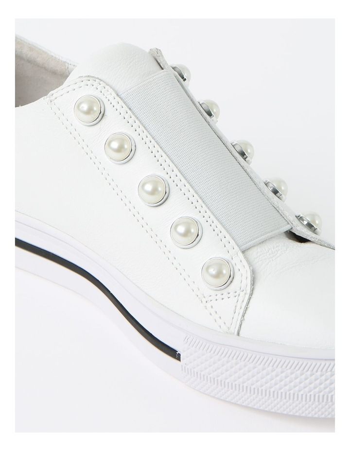 Kiss White Sneaker - Leather image 4