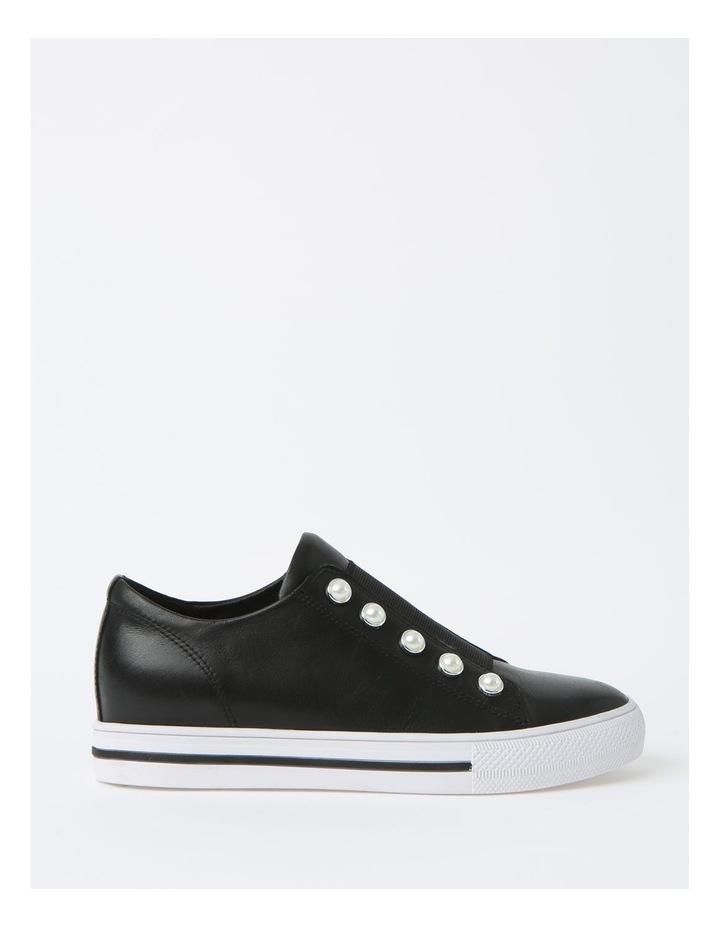 Kiss Black Sneaker - Leather image 1