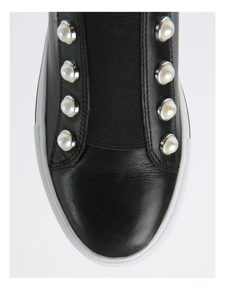 Kiss Black Sneaker - Leather image 2