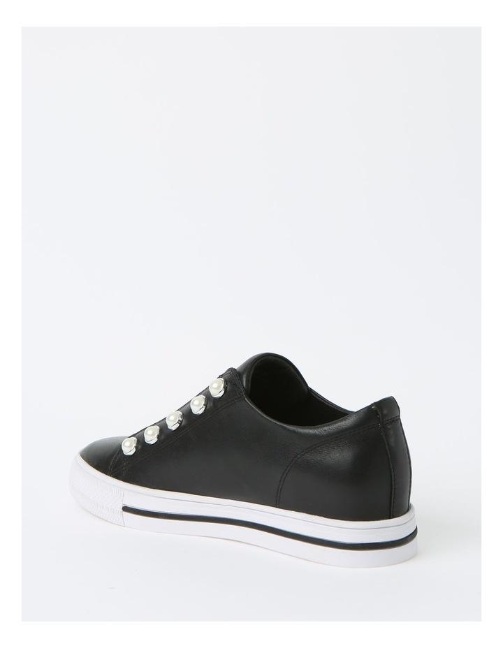 Kiss Black Sneaker - Leather image 3