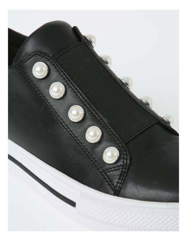Kiss Black Sneaker - Leather image 4