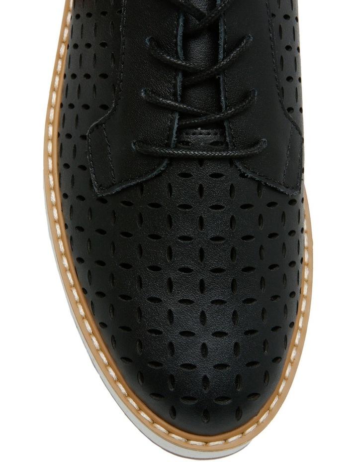 Fave Black Leather Pump image 4