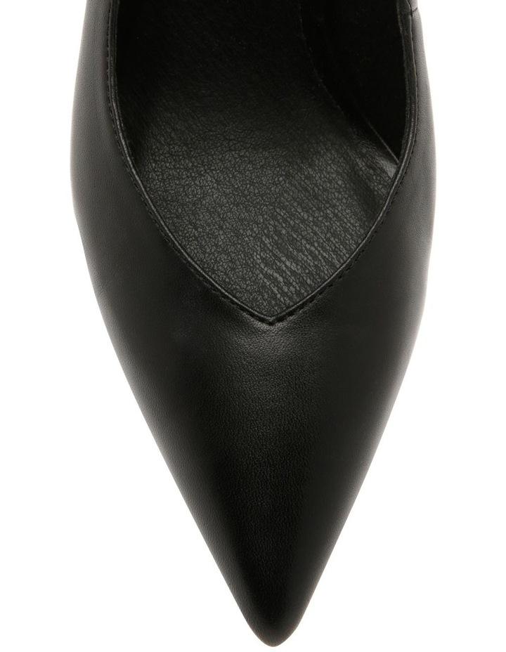 Ignite Black Leather Heel image 3