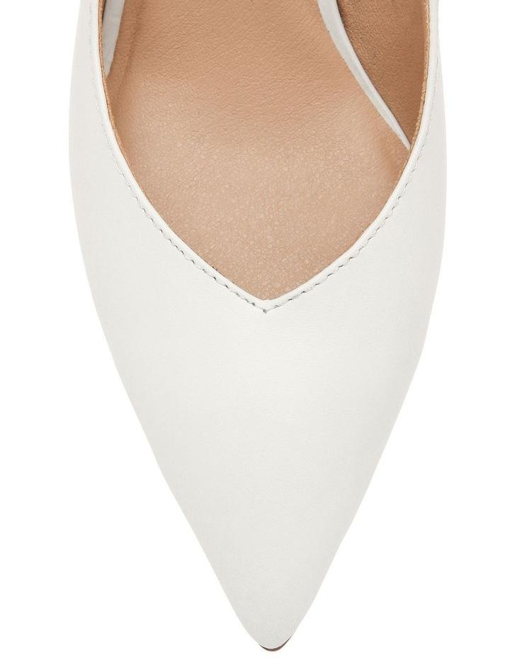 Ignite White Leather Heel image 3
