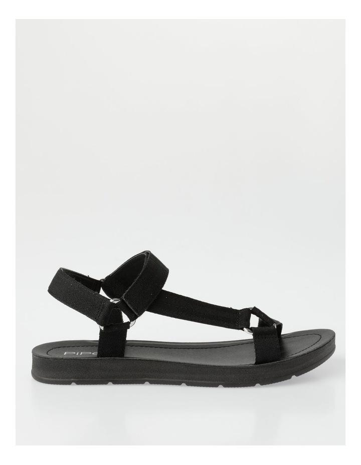 Zari Black Sandal image 1