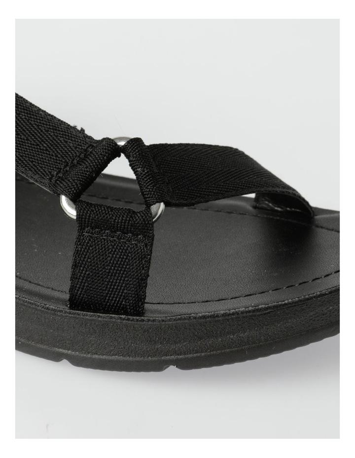 Zari Black Sandal image 4