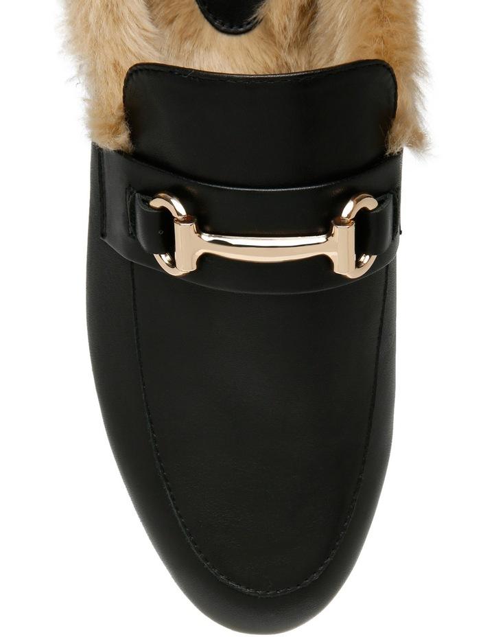 Max Black Leather Loafer image 4