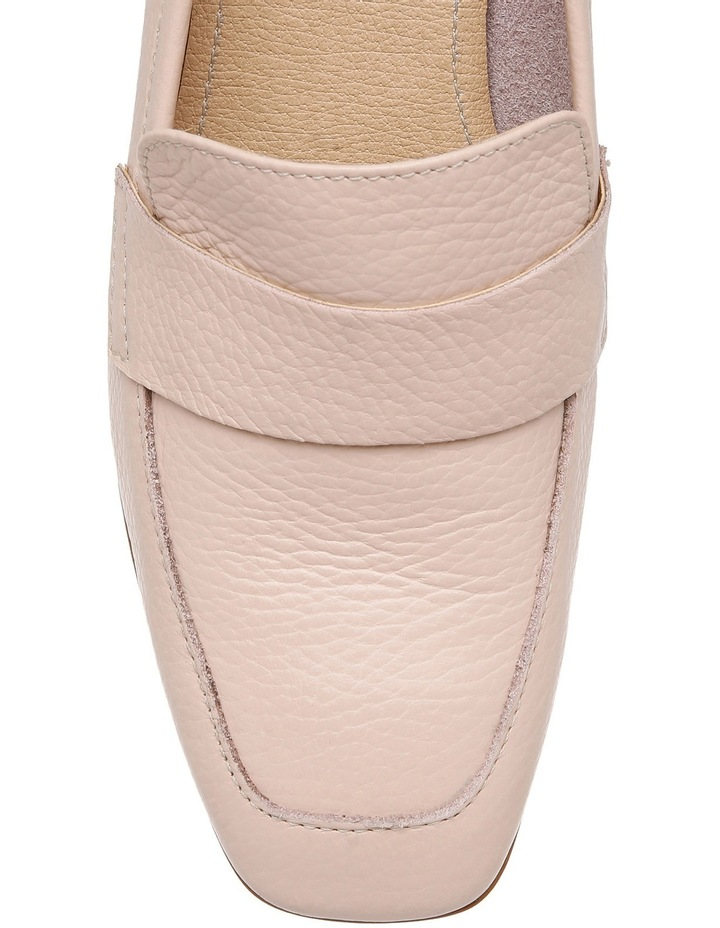 Chiara Nude Leather Loafer image 3