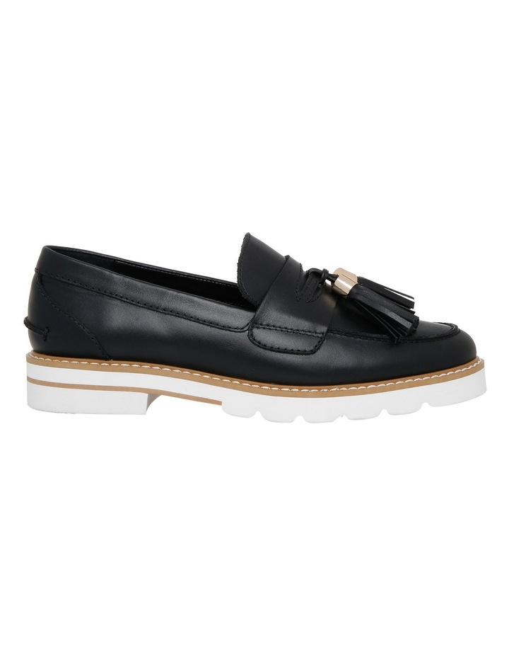 Mich Black Leather Loafer image 1
