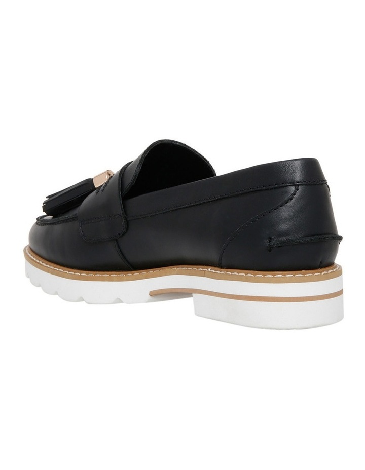 Mich Black Leather Loafer image 2