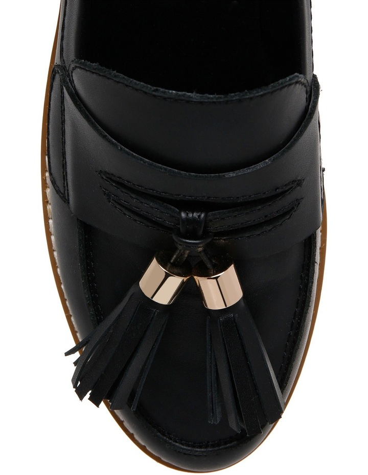 Mich Black Leather Loafer image 3