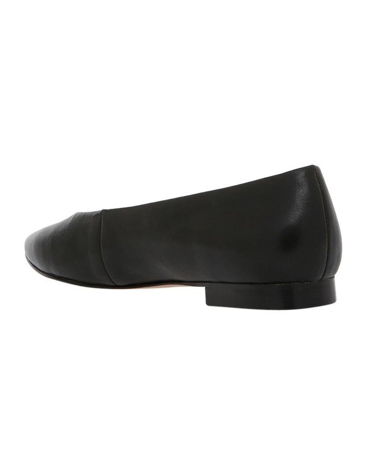 Oxford Black Leather Pump image 2