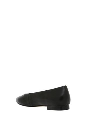 Piper - Oxford Black Leather Pump